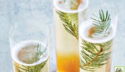 Juniper Champagne Cocktail