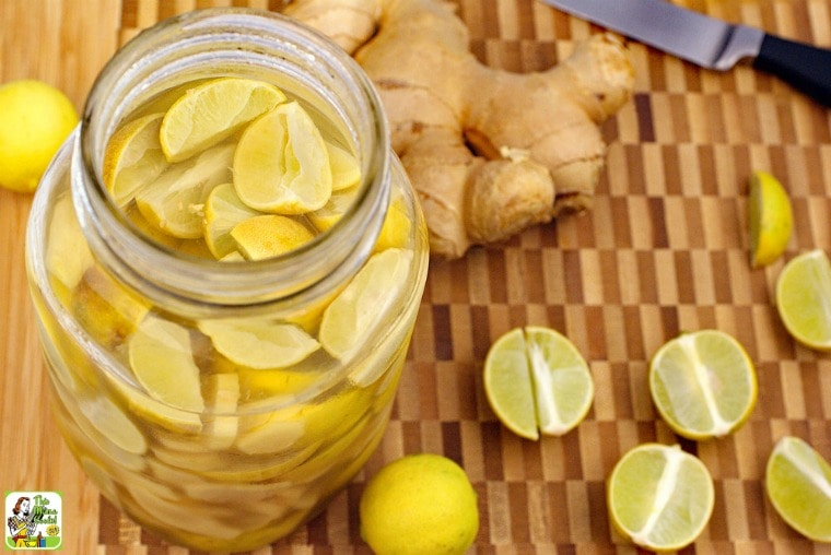 Looking for infused vodka recipes? Lime & Ginger Infused Vodka recipe