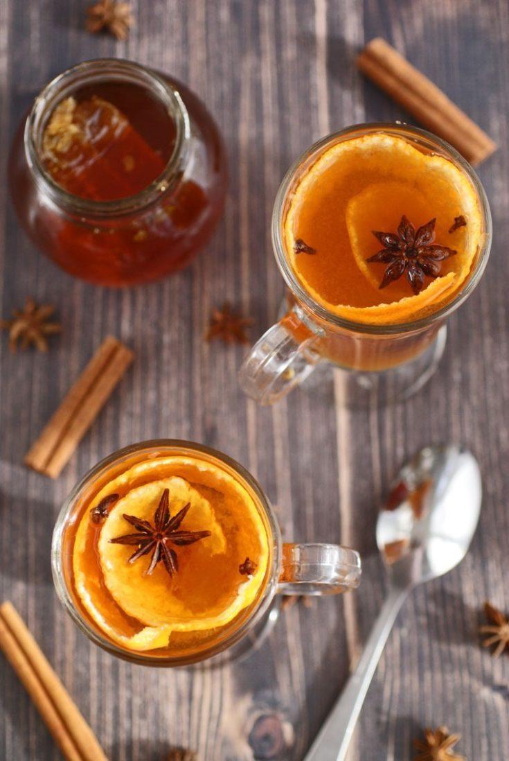 Spiced Citrus & Honey Hot Toddy Recipe