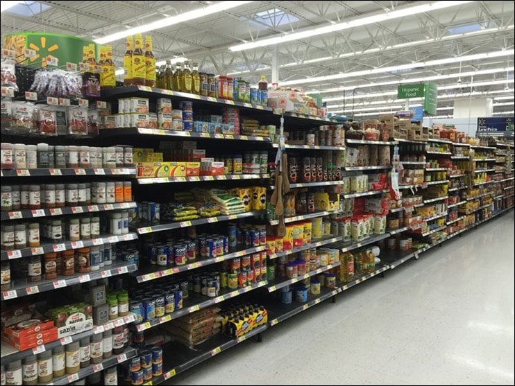 Check out the Hispanic food aisle at Walmart. Learn more at This Mama Cooks! On a Diet - thismamacooks.com