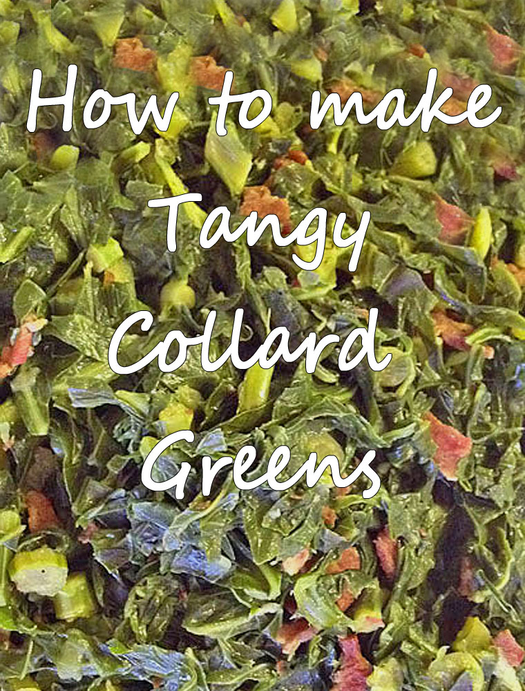 How to make Tangy Collard Greens. Get the recipe at This Mama Cooks! On a Diet