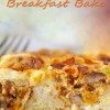 Southwestern Breakfast Bake