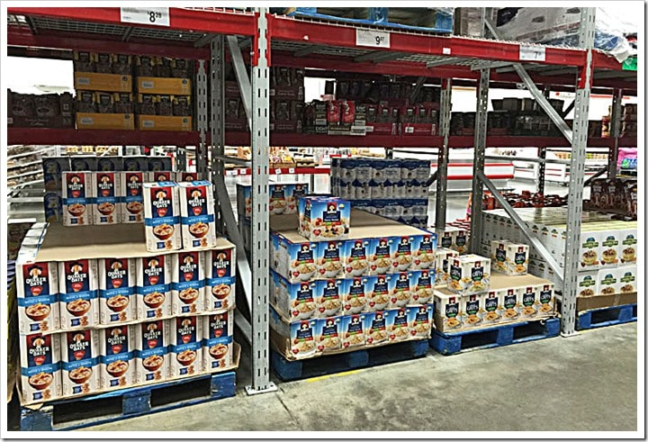 Stock up on oatmeal at Sam's Club. Learn more at This Mama Cooks! On a Diet