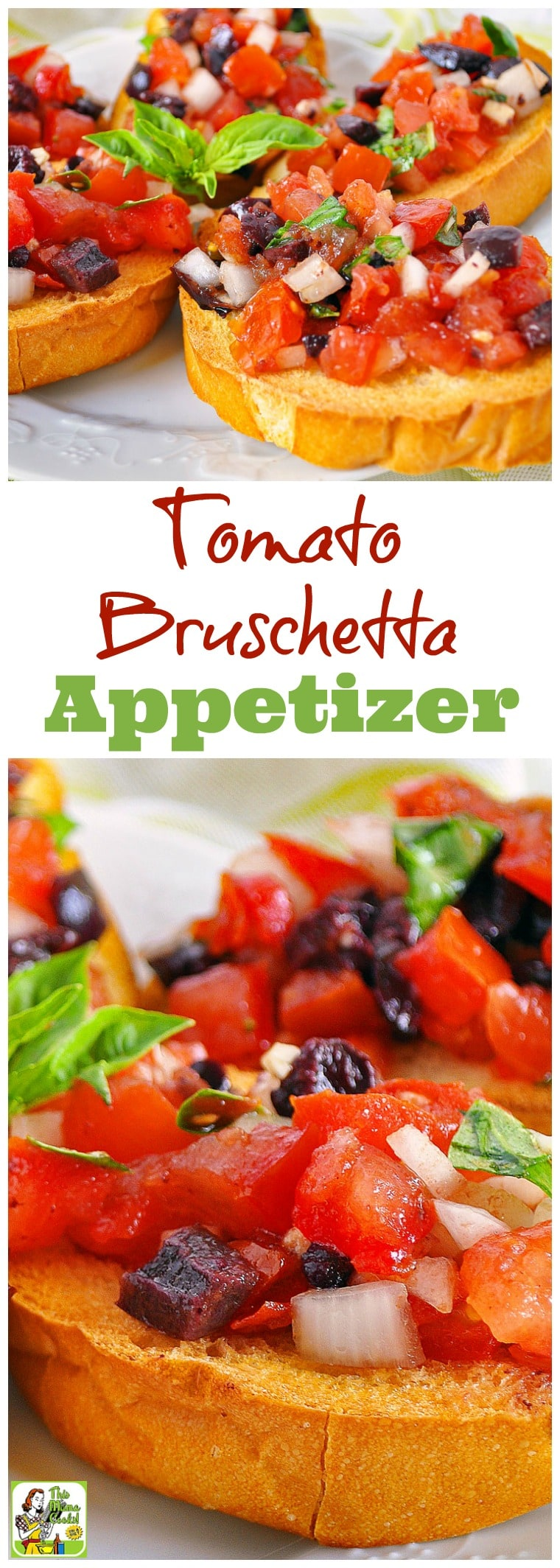 Need a delicious and healthy appetizer recipe for your next party? Try this easy tomato bruschetta appetizer recipe! Comes with a gluten free option to make with gluten free crackers or bread. Diabetic friendly and a healthy and delicious party snack! #recipes #easy #recipeoftheday #glutenfree #easyrecipe #easyrecipe #snack #partyfood #appetizers #appetizerseasy