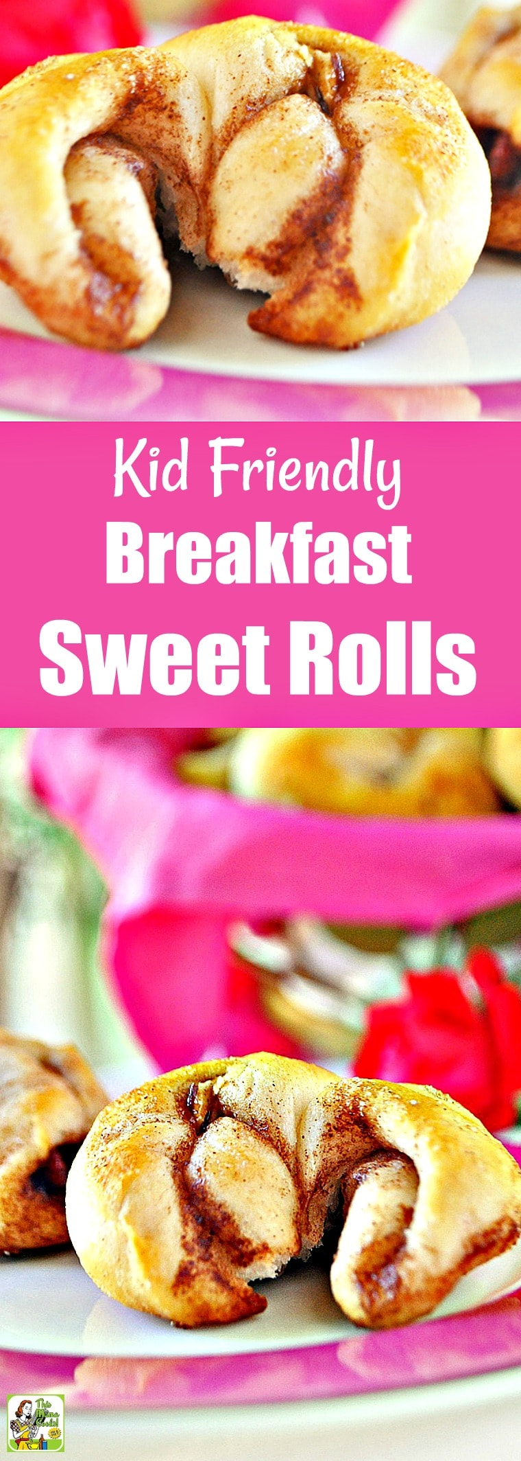 Kid Friendly Surprise Breakfast Sweet Rolls for back to school