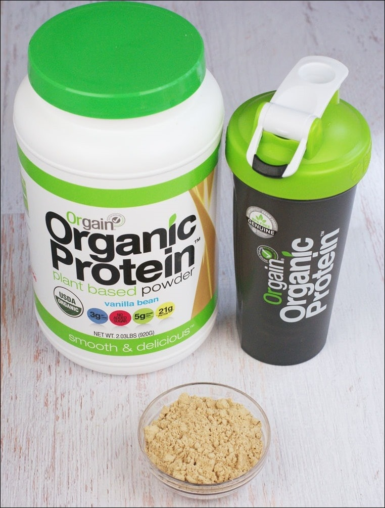 Learn about the benefits of Orgain Organic Protein Powder at This Mama Cooks! On a Diet
