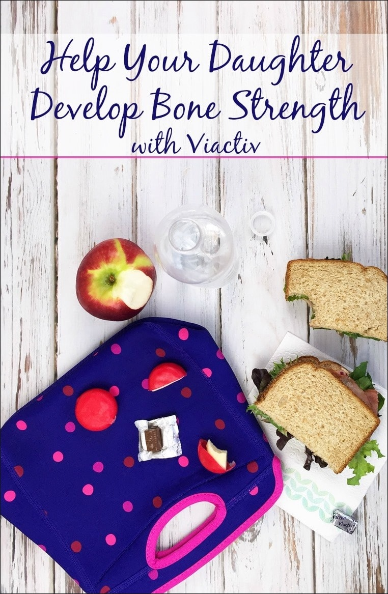 Help your daughter develop bone strength with Viactiv. Learn more at This Mama Cooks! On a Diet #ad #BeActiv