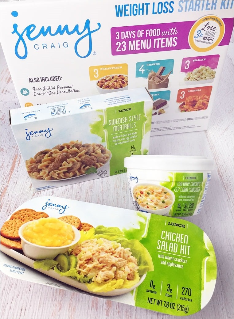 Learn more about the Jenny Craig Weight Loss Starter Kit at This Mama Cooks! On a Diet