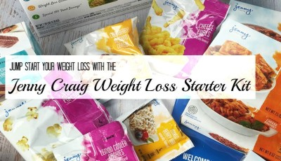 Jump start your weight loss with the Jenny Craig Weight Loss Starter Kit