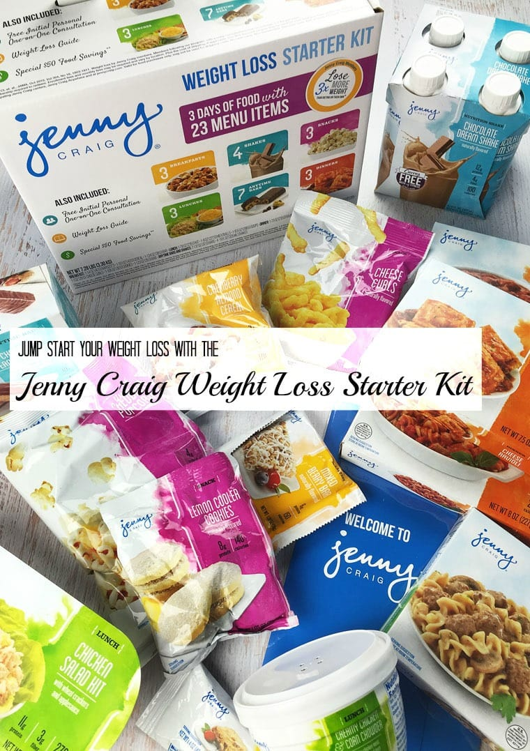 Jump start your weight loss with the Jenny Craig Weight Loss Starter Kit. Learn more at This Mama Cooks! On a Diet