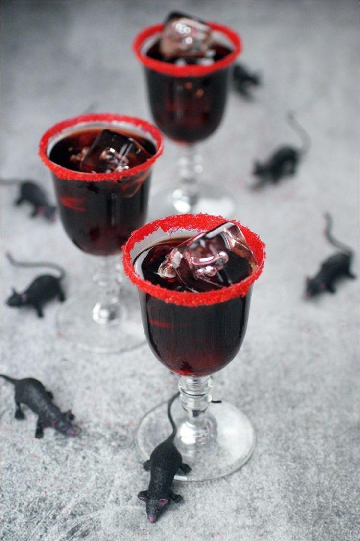 Dead Man's Kiss Black Cocktail Recipe