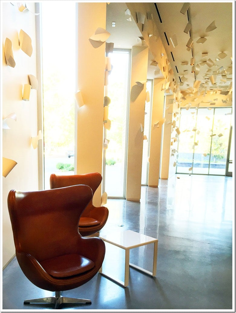 One of the permanent art collections at the 21c Museum Hotel in Bentonville, Arkansas. Learn more about my travels to Northwest Arkansas at This Mama Cooks! On a Diet