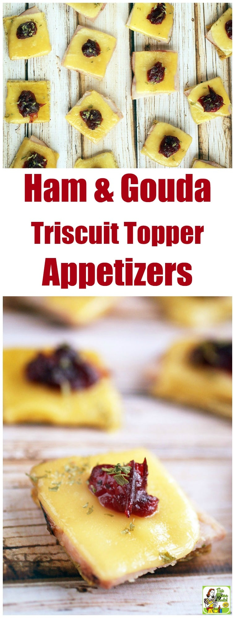 Ham & Gouda Triscuit Toppers & How to Set a Thankgiving Table