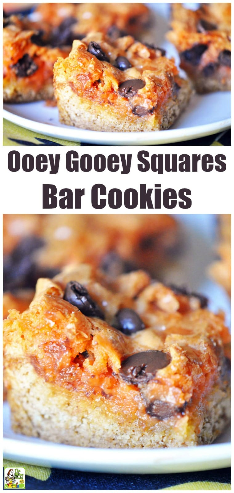 Ooey Gooey Squares Bar Cookies can be quickly made when you're busy with holiday entertaining. This easy-to-make bar cookie recipe comes with gluten-free, sugar-free, and dairy-free options. #recipes #easy #recipeoftheday #glutenfree #easyrecipe #easyrecipes #glutenfreerecipes #baking #snacks #cookies #desserts #dessertrecipes #dessertideas