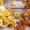 Healthy Baked Plantain Chips Four Ways