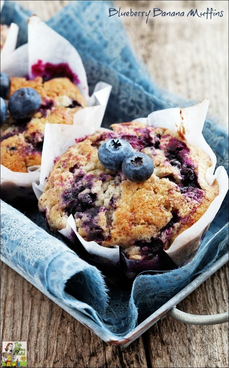 Looking for Jillian Michaels recipes from The Master Your Metabolism Cookbook? Here's one for easy to make Blueberry Banana Muffins. They made even moister with the addition of yogurt!
