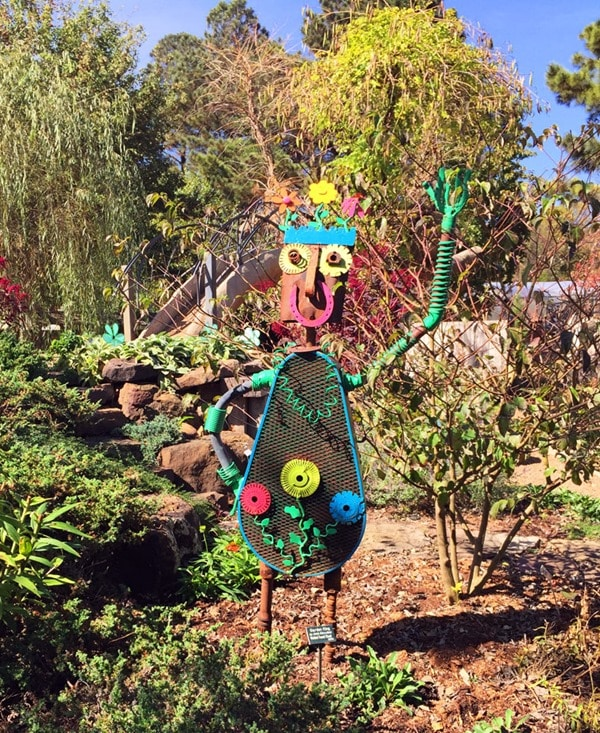 Visit the Botanical Garden of the Ozarks in Fayetteville, Arkansas. Get more travel tips from This Mama Cooks! On a Diet