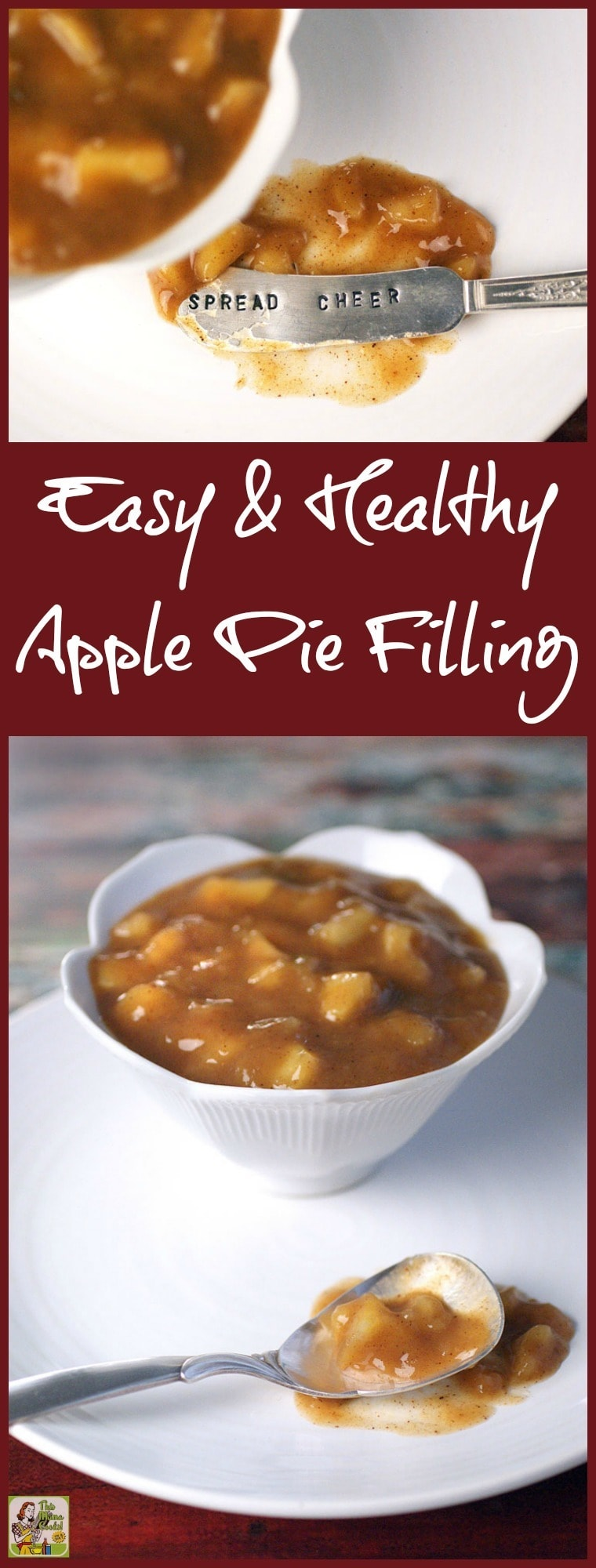 How to make an Easy & Healthy Apple Pie Filling for all your baking needs. The best apple pie filling recipe is easier to make than you think! Click to get this gluten-free recipe. Double or triple a batch and freeze to use in all sorts of apple pie dessert and baking recipes. #recipes #easy #recipeoftheday #glutenfree #easyrecipe #easyrecipes #glutenfreerecipes #baking #apples #desserts #dessertrecipes #dessertideas