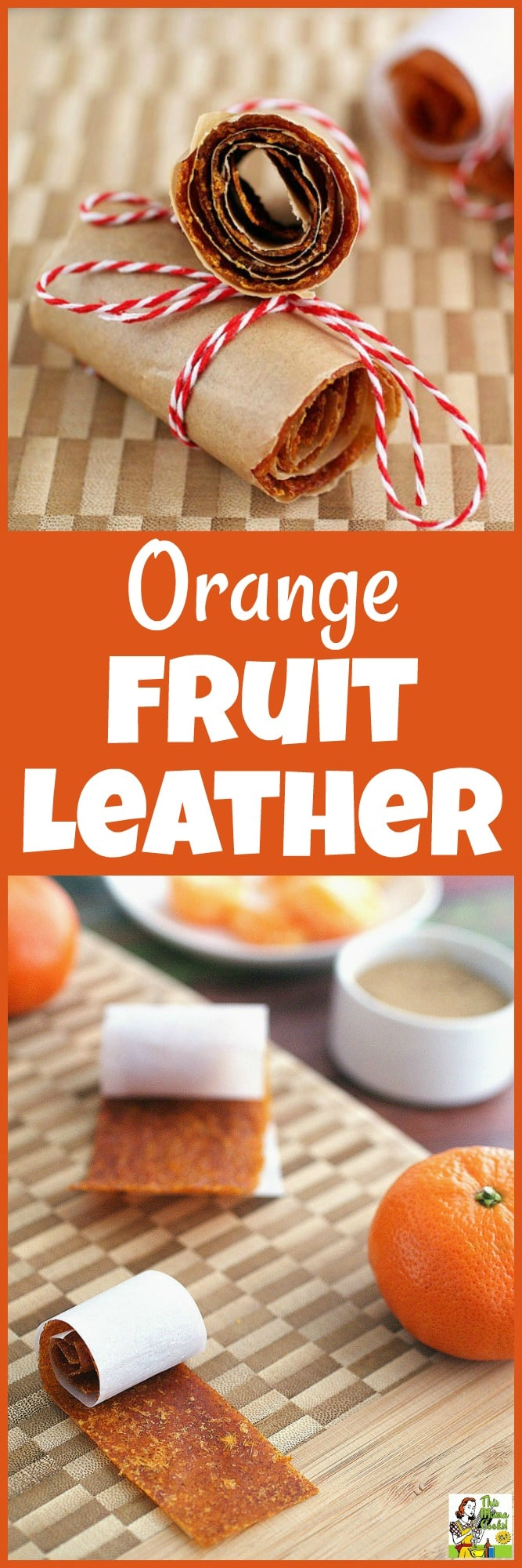 Want to learn how to make fruit leather? This homemade orange fruit leather recipe is easier than you think! #sugarfree #sugarfreerecipes #recipe #easy #recipeoftheday #healthyrecipes #glutenfree #easyrecipes #desserts #dessertrecipes #dessertideas #sugarfree #sugarfreerecipes #oranges #fruitleather #fruitrecipes #snacks #snackrecipes #homemadegifts #vegan #veganrecipes
