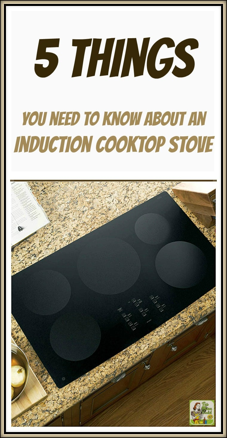 Are you considering replacing your gas or electric cooktop with an induction cooktop stove? Here are 5 things you need to know about an induction cooktop stove. #InductionCooktopStove #InductionCooking #InductionCooktop #GEInductionCooktop