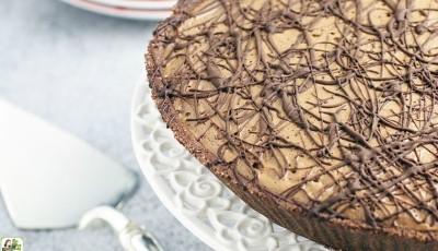 Espresso Chocolate No Bake Pie