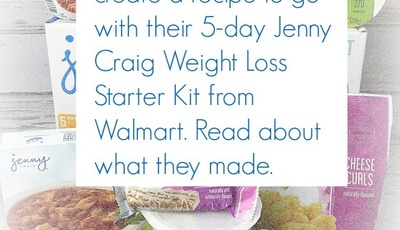 See what these bloggers cooked up to go with their 5-day Jenny Craig Weight Loss Starter Kit from Walmart!