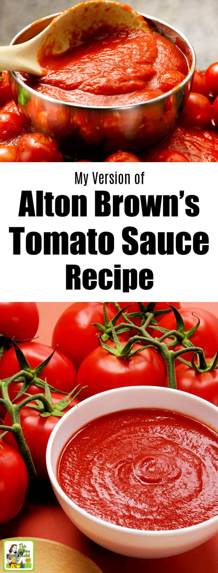 My Version of Alton Brown's Tomato Sauce Recipe