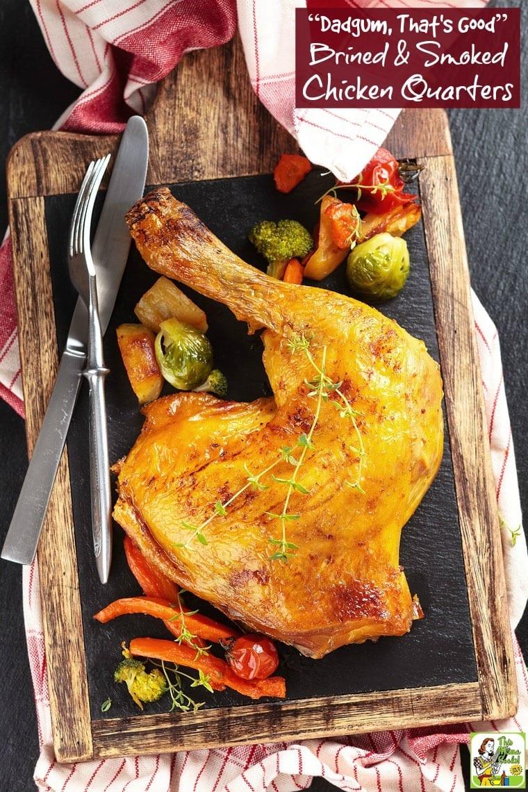 Chicken leg.