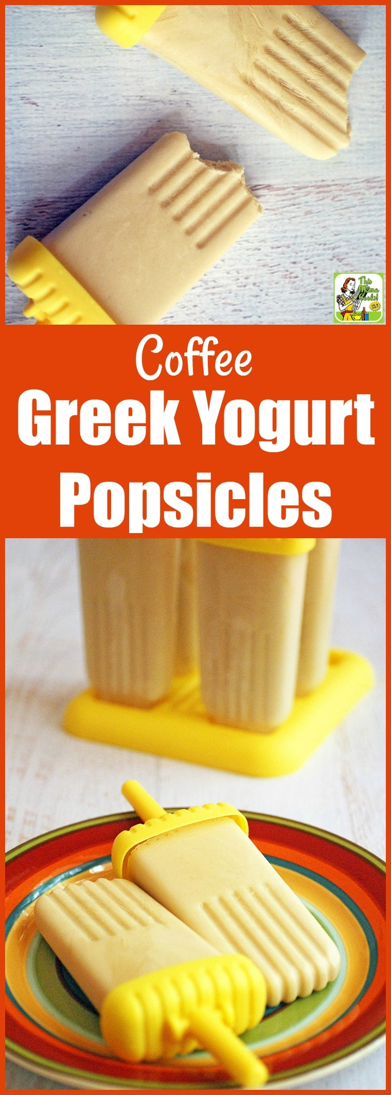 How about making some Greek Yogurt Popsicles? This homemade yogurt popsicle recipe is a thrifty way to use leftover coffee. These frozen pops are packed with protein making them a terrific snack! #recipes #easy #recipeoftheday #glutenfree #easyrecipe #easyrecipes #glutenfreerecipe #snacks #desserts #dessertrecipes #dessertideas #yogurt #coffee #coffeeaddict