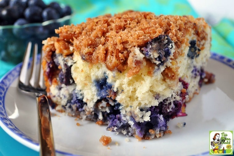 Bring Blueberry Muffin Streusel Cake to your next breakfast meeting or play date!