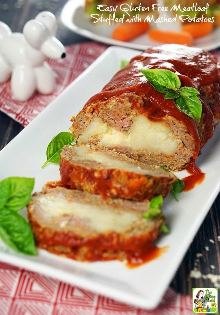 Mashed Potato Stuffed Meatloaf Recipe