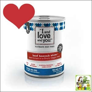 Best Gluten Free Products List: I and Love and You dog food and treats