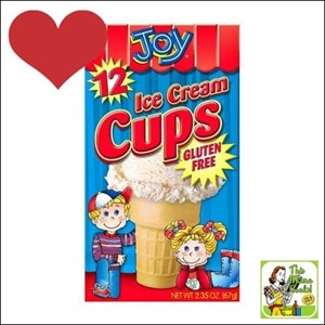 Best Gluten Free Products List: Try Joy Cone Gluten Free Ice Cream Cups