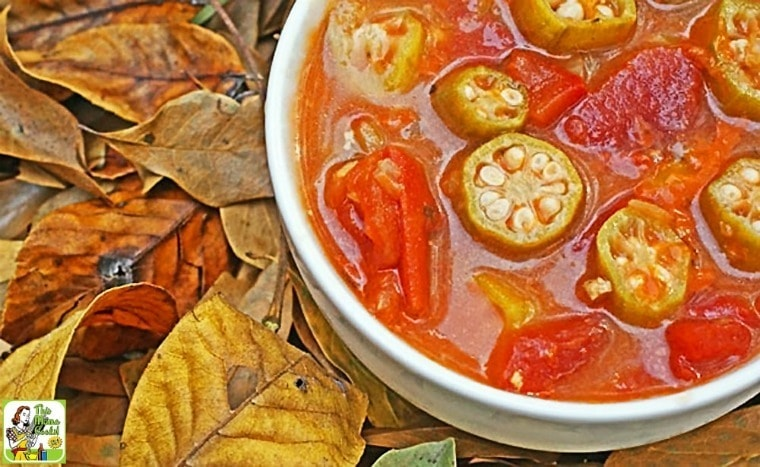 Easy Tomato & Okra Soup