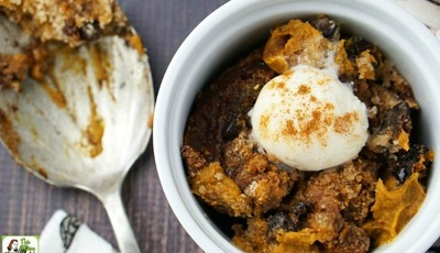 Gluten Free Slow Cooker Pumpkin Pudding