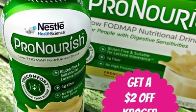 Try ProNourish Nutritional Drinks with these $2 Coupons!