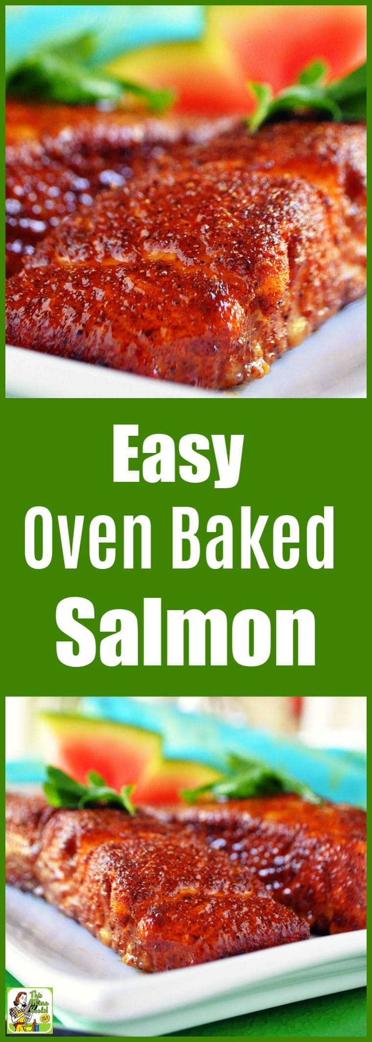 Love salmon but don't know how to cook it? Try this Easy Oven Baked Salmon recipe. This easy fish recipe that can be made in under 25 minutes. #recipes #glutenfree #glutenfreerecipes #dinner #easydinner #dinnerrecipes #fish #salmon