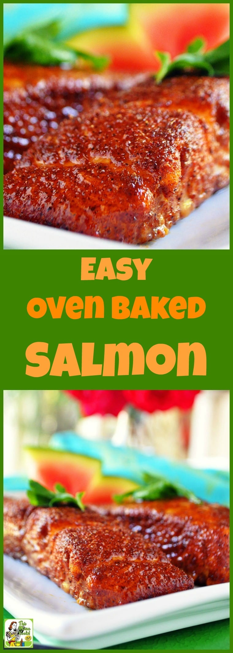 Love salmon but don't know how to cook it? Try this Easy Oven Baked Salmon recipe. This easy fish recipe that can be made in under 25 minutes. #recipes #easy #recipeoftheday #glutenfree #easyrecipe #easyrecipes #glutenfreerecipes #dinner #easydinner #dinnerrecipes #dinnerideas #fish #salmon