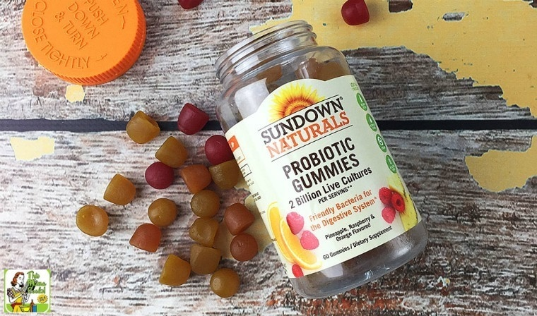 It's easy to maintain a healthy lifestyle with Sundown Naturals® gummy vitamins