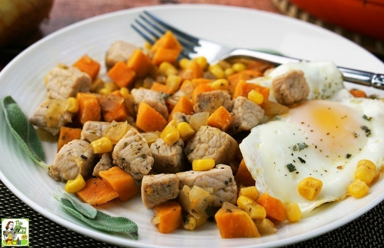 Sweet Potato Pork Hash Recipe