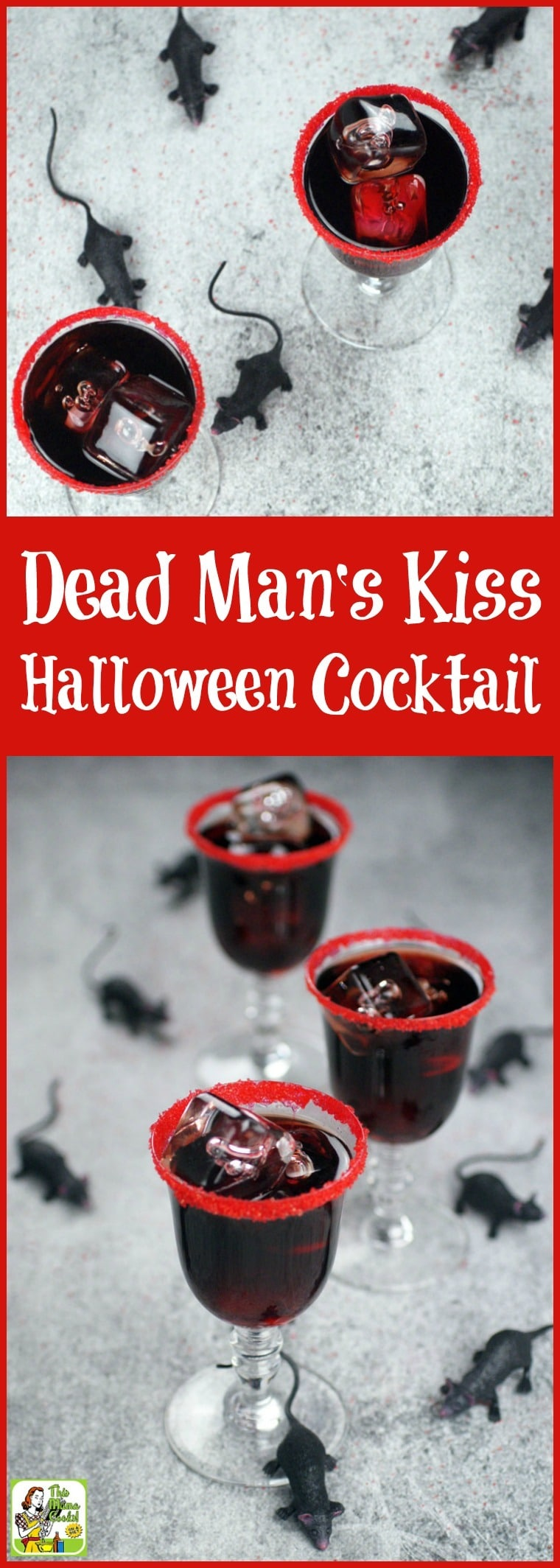 Searching for black cocktails for Halloween? Try a Dead Man's Kiss Cocktail made with black vodka, coffee liqueur, and Frangelico. Includes an easy black vodka recipe for making black Halloween cocktails. Everyone will love this spooky black cocktail drink recipe. #recipeoftheday #Halloween #cocktails #cocktail #drinks #drinking #vodka #alcohol #drinkrecipes