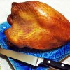 Learn how easy it is to brine and smoke a turkey breast. Click to get the turkey brining recipe.