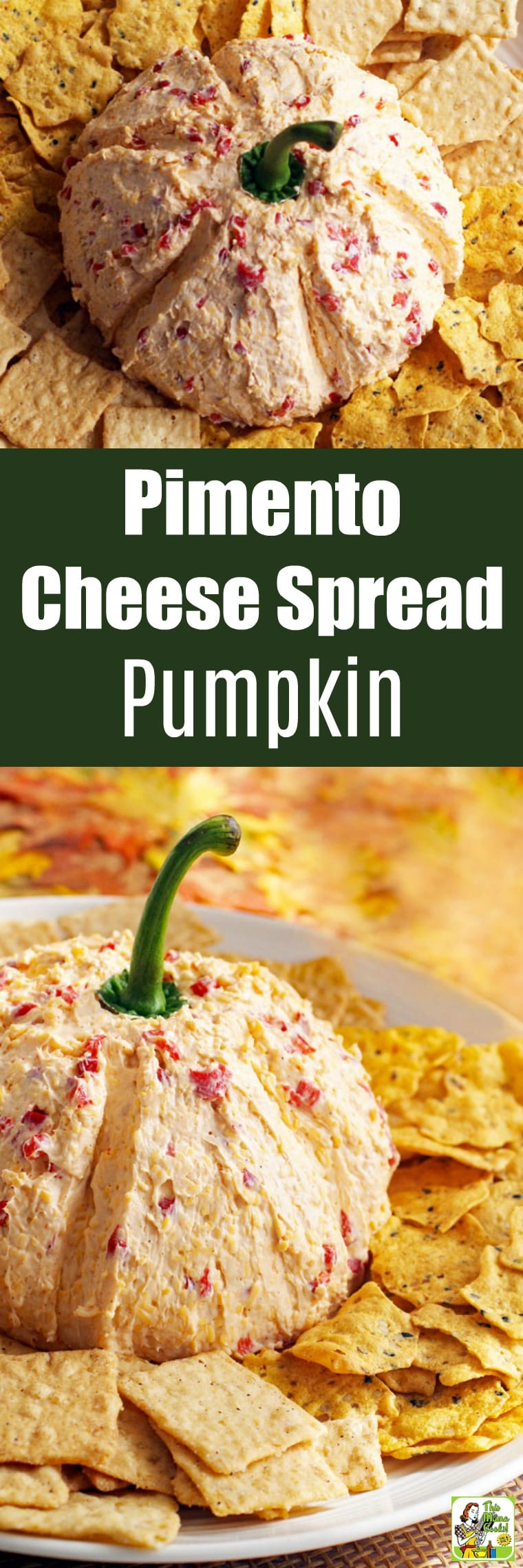 Make this Pimento Cheese Spread Recipe into a Pumpkin