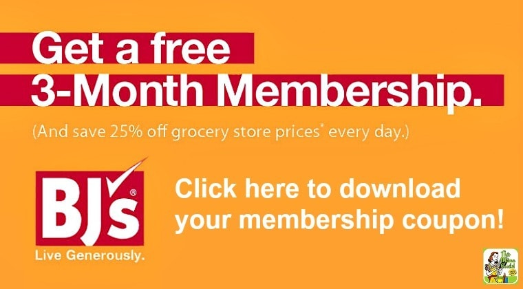 BJ's Wholesale Club Membership Drive: Click to get a FREE 90 day membership and save!
