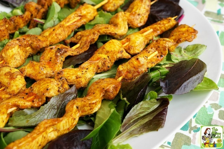 Easy Chicken Shawarma Appetizers with Dipping Sauce