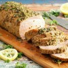 If you're looking for the best way to marinade and roast a pork loin, go no further than trying out this Best Herb & Lemon Pork Loin Marinade. Click to get this oven pork roast recipe. Can also be used as a marinade for pork loin grilling.
