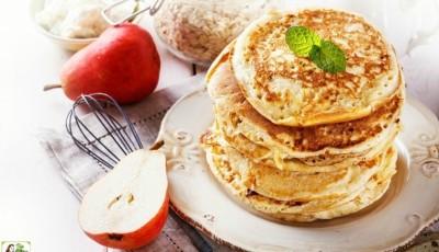 High Protein Oatmeal Pancakes Recipe