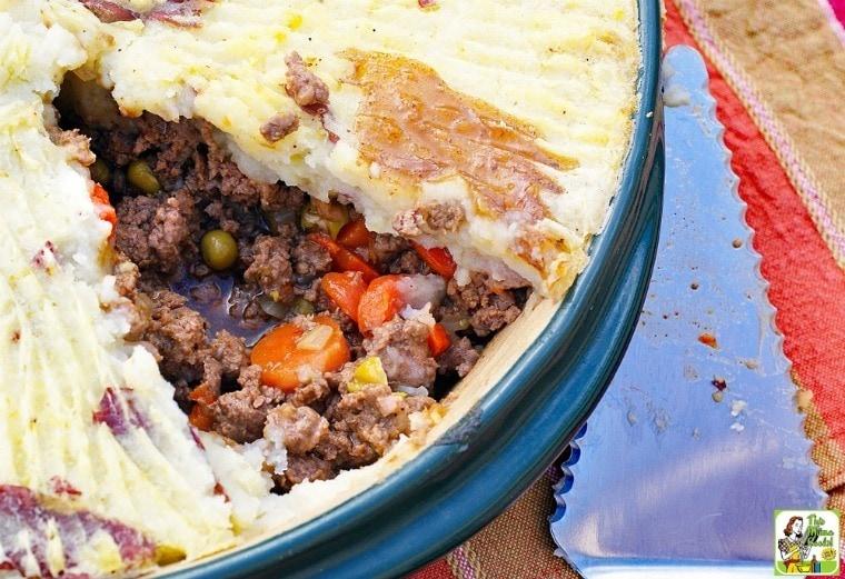 Gluten Free Shepherd's Pie