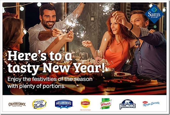 Jump start the New Year with Sam's Club