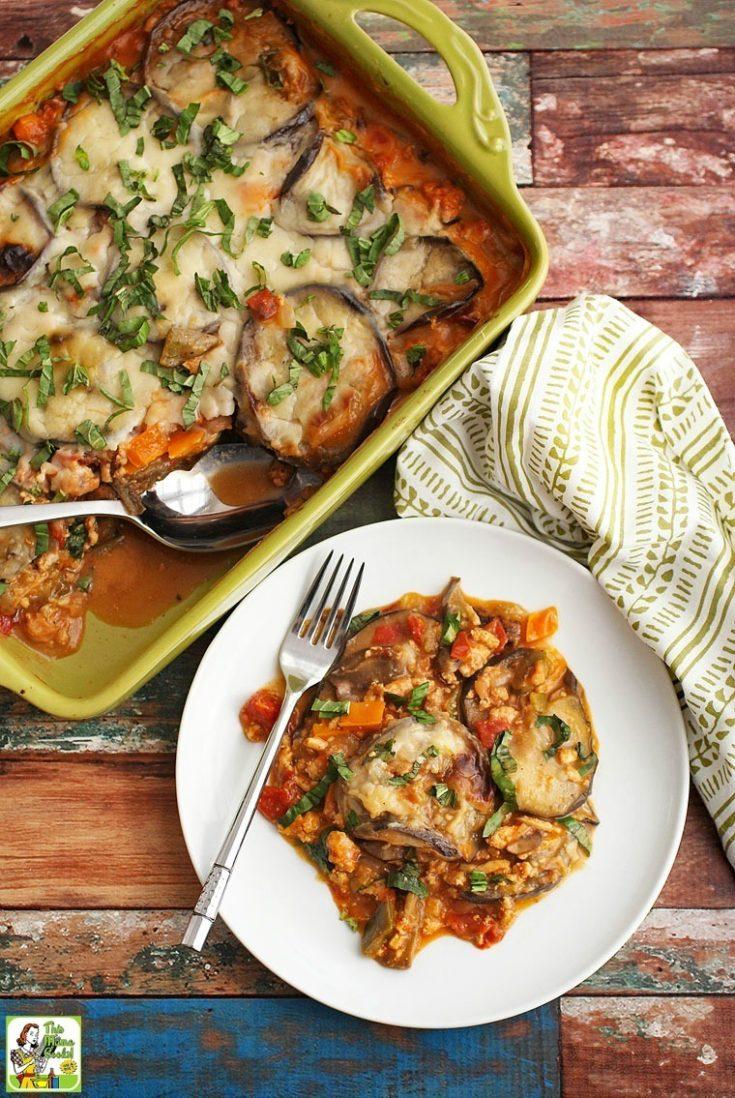 Healthy Moussaka Recipe with Gluten Free Bechamel Sauce